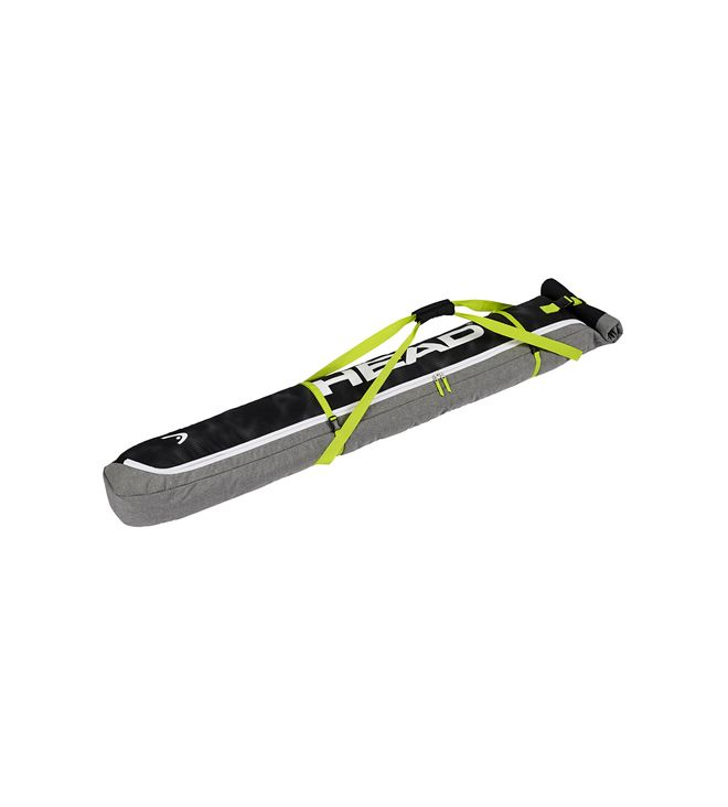 Ski Single Skibag Antracite/Grey-Neon Yellow